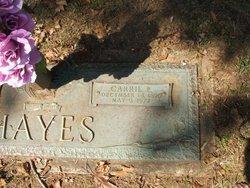 Carrie Emaline <i>Moody</i> Hayes