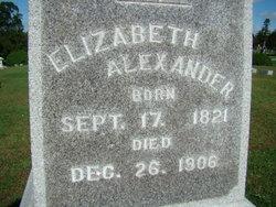 Elizabeth <i>Fore</i> Alexander
