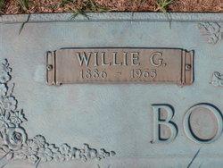 Willie Griffin Bourne