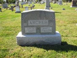 Mary Melissa <i>McDaniel</i> Archer