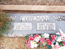Mary Pearl <i>Powers</i> Foreman
