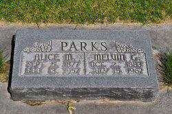 Alice Mary <i>Dennis</i> Parks