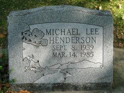 Michael Lee Henderson