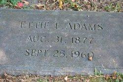 Ettie J Willie <i>Eatman</i> Adams