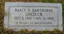 Nancy Victoria <i>Hawthorne</i> Lincecum