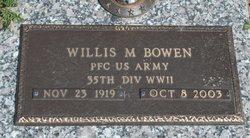 Willis M. Bowen