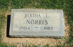 Bertha Lucinda Bo <i>Tomlin</i> Norris