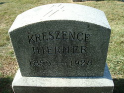Kreszence (Crescentia) <i>Ranschendorf</i> Hiermer