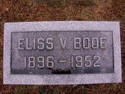 Eliss V. Booe