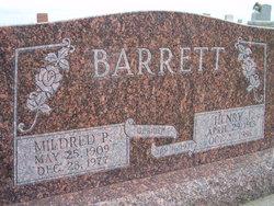 Mildred P Barrett