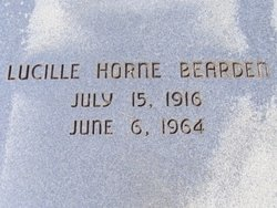 Lucille <i>Horne</i> Bearden
