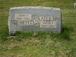 Sarah Elizabeth <i>Sutter</i> Heitzenrater