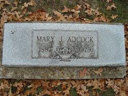 Mary Jane <i>Van Buren</i> Adcock