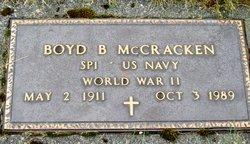 Boyd B McCracken