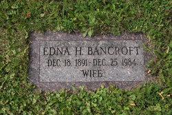 Edna H Bancroft