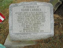 Adam Cramer