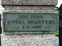 Wolford Rural Cemetery