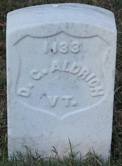 Pvt D. G. Aldrich