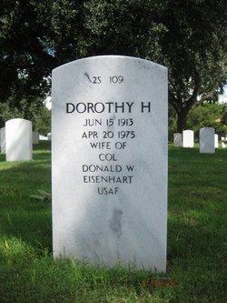 Dorothy <i>Hill</i> Eisenhart
