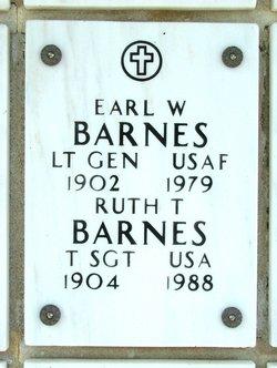 Lt General Earl Walter Barnes