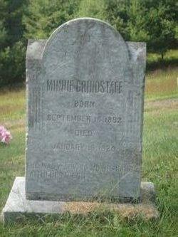 Minnie <i>Thomas</i> Grindstaff
