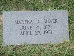Martha Evelyn <i>Davis</i> Silver