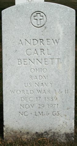 Adm Andrew Carl Bennett