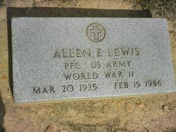 PFC Allen Edward Lewis