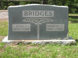 Frances N. Fannie <i>Easley</i> Bridges