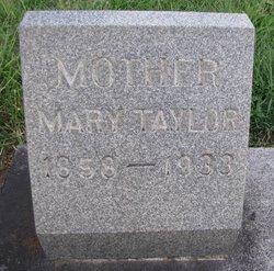 Mary <i>Grewell</i> Taylor