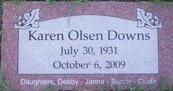 Karen <i>Olsen</i> Downs