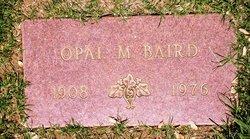 Opal M Baird