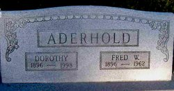 Frederick W. Aderhold