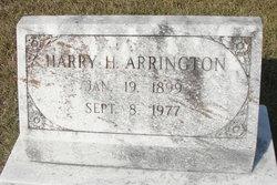 Harry H. Arrington