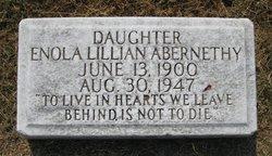 Enola Lillian Abernethy