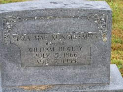 Eliza Mae <i>Klinglesmith</i> Bewley