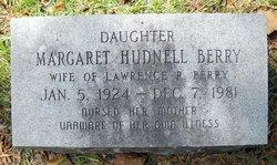 Margaret <i>Hudnel</i> Berry