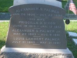 Alexander Grant Smith Palmer, Sr