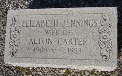 Elizabeth Betty <i>Jennings</i> Carter