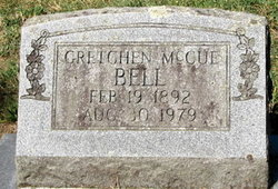 Gretchen <i>McCue</i> Bell