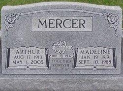 Madeline Louise Madge <i>Branson</i> Mercer