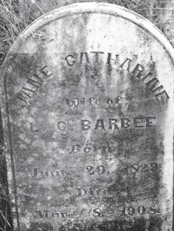 Jane Catharine <i>Totten</i> Barbee