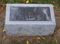 Mary J <i>Elwell</i> Cooper