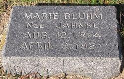 Marie <i>Yahnke</i> Bluhm