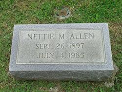 Nettie Martha Rhodes Allen