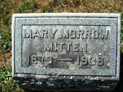 Mary Jane <i>Morrow</i> Mitten