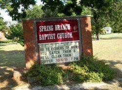 Spring Branch Baptist Church Cemetery