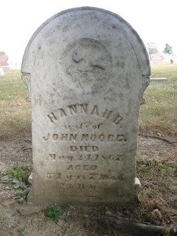 Hannah B <i>Haymond</i> Moore