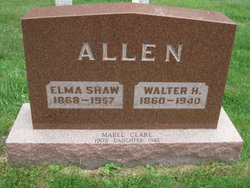 Elma Henrietta <i>Shaw</i> Allen