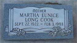 Martha Eunice <i>Long</i> Cook